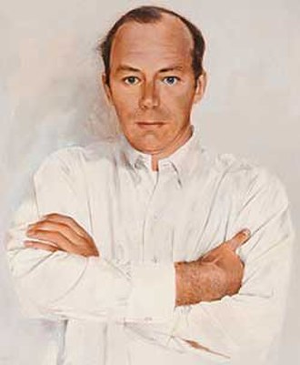 John Berkey - John Berkey self portrait