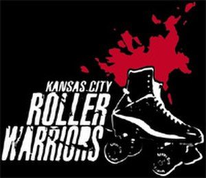 Kansas City Roller Warriors - KCRW logo pre-2017