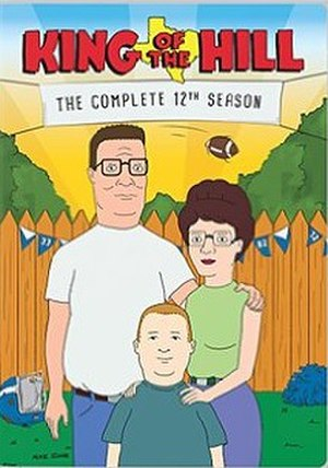 King of the Hill (season 12) - DVD cover
