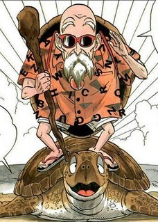 """Master Roshi Fictional character in the anime and manga franchise """"DragonBall""""."""