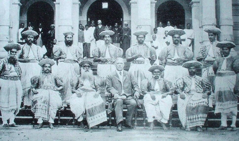 Kandyan Chiefs in 1905