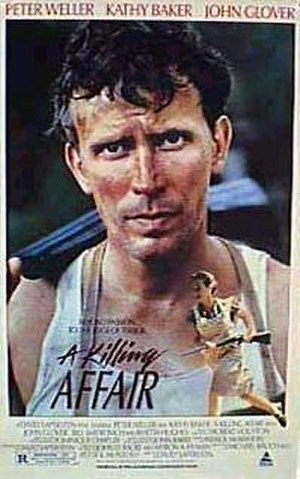 A Killing Affair (1986 film) - Theatrical release poster