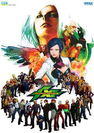 The King of Fighters XI - Arcade flyer for The King of Fighters XI