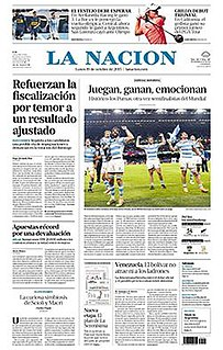 Argentinian newspaper