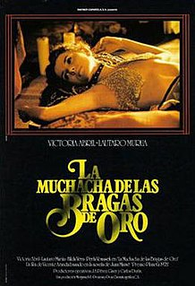 <i>Girl with the Golden Panties</i> 1980 film by Vicente Aranda