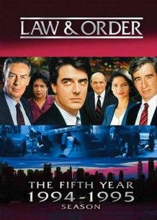 <i>Law & Order</i> (season 5)