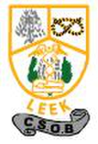 Leek County School Old Boys F.C. - Club badge