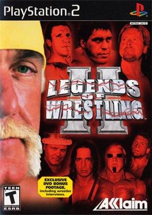 Legends of Wrestling II - Image: Legends of Wrestling II Coverart
