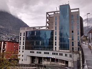 Police Corps of Andorra - Location of the central police station in Escaldes-Engordany