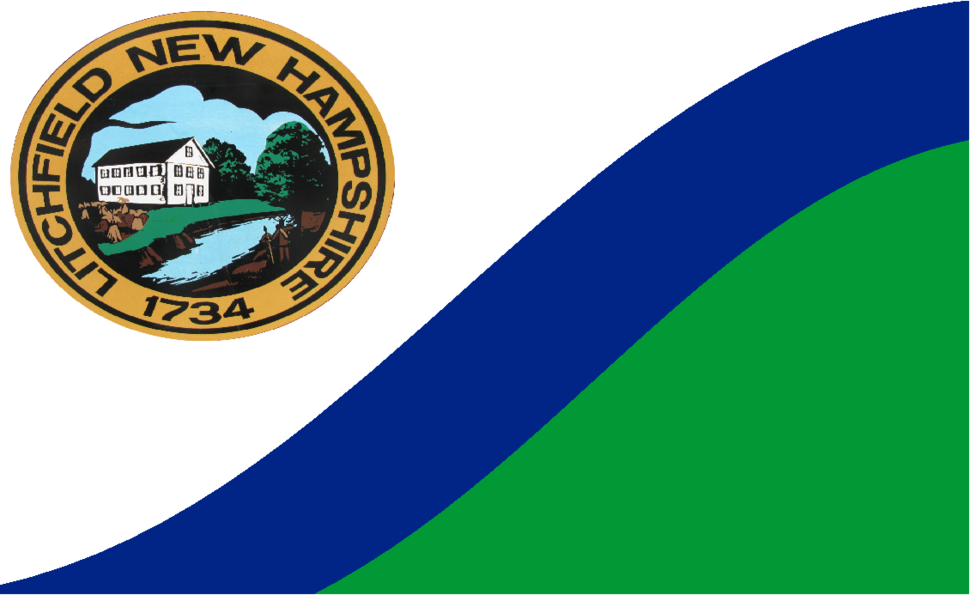 Flag of Litchfield, New Hampshire