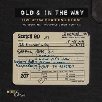 Live at the Boarding House - Image: Live At The Boarding House