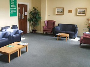 Day Services Unit waiting room