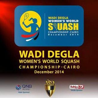 2014 Women's World Open Squash Championship - Image: Logo 2014 Women's World Squash Championship