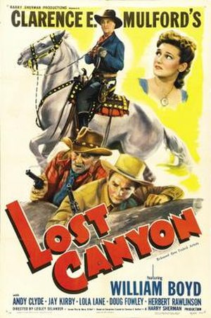Lost Canyon - Theatrical release poster