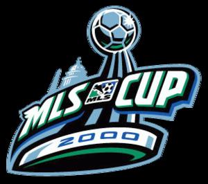 MLS Cup 2000 - Image: MLS Cup 2000