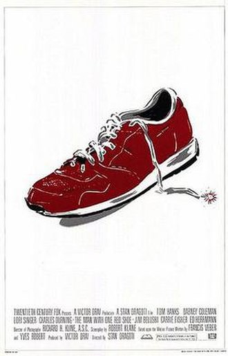 The Man with One Red Shoe - Theatrical release poster