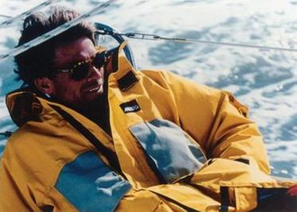 Mike Plant - Plant aboard Coyote in Oct 1992 (Billy Black)