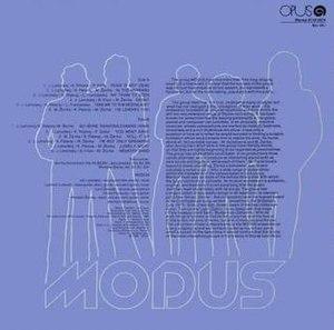 Modus (album) - Image: Modusexport 2