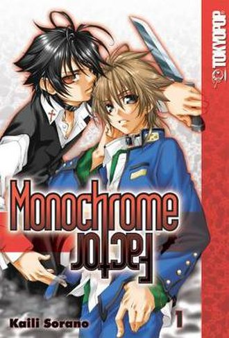 Monochrome Factor - Cover of the first volume released by Tokyopop
