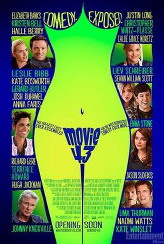 Movie 43 - Theatrical release poster