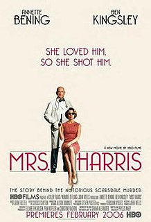 <i>Mrs. Harris</i> 2005 television film directed by Phyllis Nagy