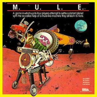 M.U.L.E. - Box art