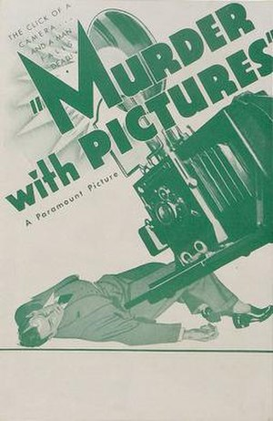 Murder with Pictures - Image: Murder with Pictures Film Poster