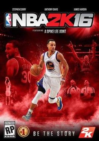 NBA 2K16 - Image: NBA 2K16 cover art