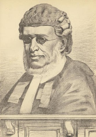 Charles Neaves, Lord Neaves - Lord Neaves as a judge.