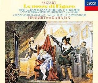 <i>Le nozze di Figaro</i> (Herbert von Karajan April 1978 recording) 1979 studio album by Herbert von Karajan