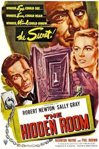 Obsession (1949 film) - Theatrical release poster (USA)