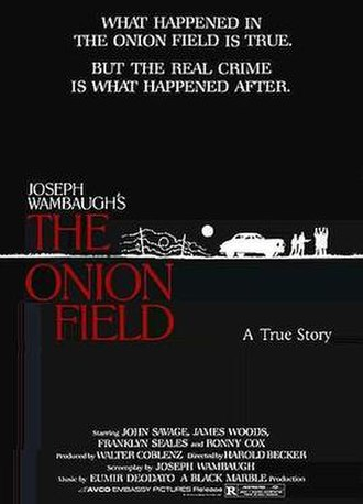 The Onion Field (film) - Theatrical release poster