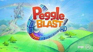 <i>Peggle Blast</i> Puzzle video game