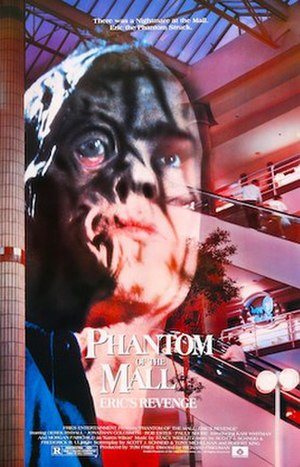 Phantom of the Mall: Eric's Revenge - Theatrical release poster