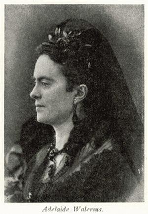 Adelaïde Leuhusen - Image: Photo of Adelaïde Leuhusen, née Valerius