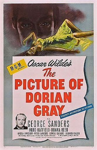 The Picture of Dorian Gray (1945 film) - Promotional poster
