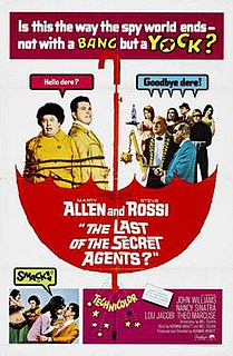 <i>The Last of the Secret Agents?</i> 1966 film by Norman Abbott