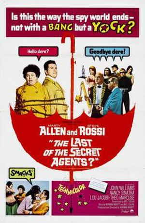 The Last of the Secret Agents? - Image: Poster of the movie The Last of the Secret Agents