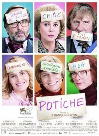 Potiche - Theatrical release poster