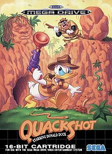 QuackShot - Starring Donald Duck - Best Sega Genesis Games