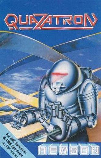 Quazatron - Cassette cover from original release