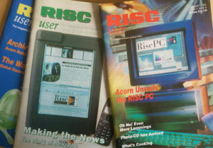 History of tablet computers - Risc User: NewsPad Covered in the October 1996 edition