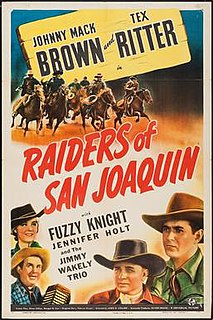 <i>Raiders of San Joaquin</i> 1943 film directed by Lewis D. Collins