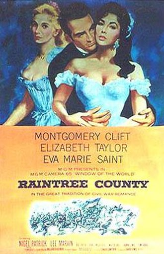 Raintree County (film) - Theatrical poster