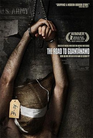 The Road to Guantánamo - Original poster for US release, rejected by the MFAA