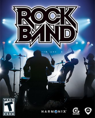 Rock Band (video game) - Rock Band cover art
