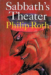 <i>Sabbaths Theater</i> book by Philip Roth
