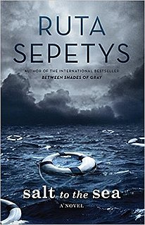 <i>Salt to the Sea</i> Young adult novel by Ruta Sepetys