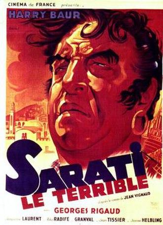 Sarati the Terrible (1937 film) - Image: Sarati the Terrible (1937 film)