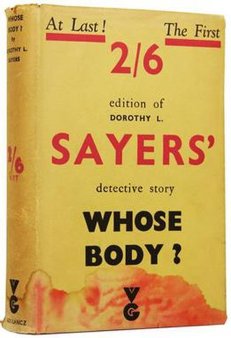 Whose Body? - 1936 edition by Gollancz
